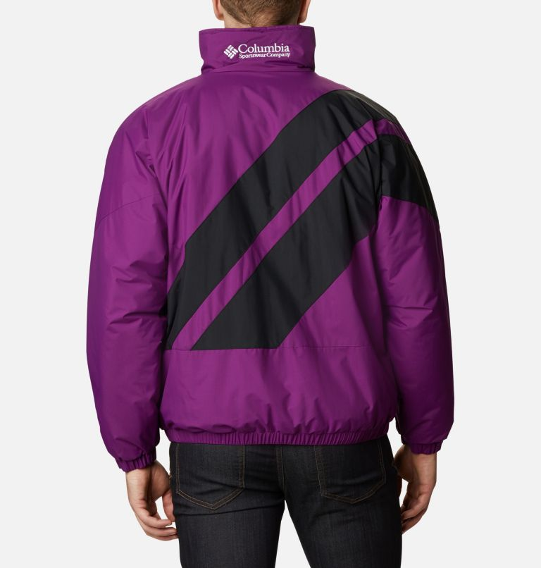 Sideline™ Parka | 575 | XL Men's Sideline Parka, Plum, Black, back
