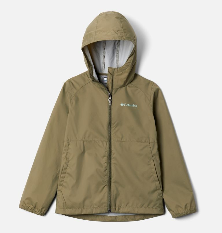 Switchback™ II Jacket | 397 | XL Girls' Switchback™ II Jacket, Stone Green, front