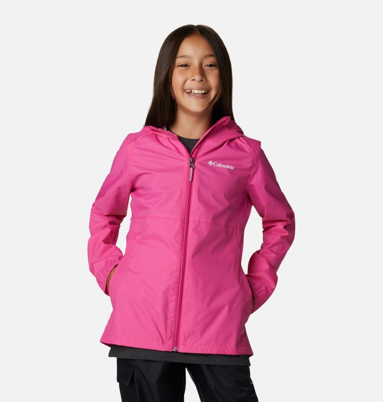 Switchback™ II Jacket | 695 | M Girls' Switchback™ II Jacket, Pink Ice, front