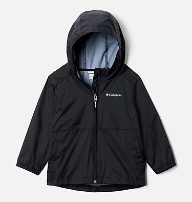 Girls' Toddler Switchback II Rain Jacket Switchback™ II Jacket   576   2T, Black, front