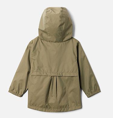 Girls' Toddler Switchback II Rain Jacket Switchback™ II Jacket   576   2T, Stone Green, back