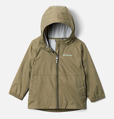 Girls' Toddler Switchback II Rain Jacket Switchback™ II Jacket   576   2T, Stone Green, front