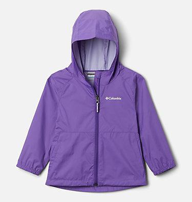 Girls' Toddler Switchback II Rain Jacket Switchback™ II Jacket   576   2T, Grape Gum, front