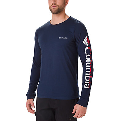 Men's Columbia Lodge™ Long Sleeve Graphic T-shirt , front