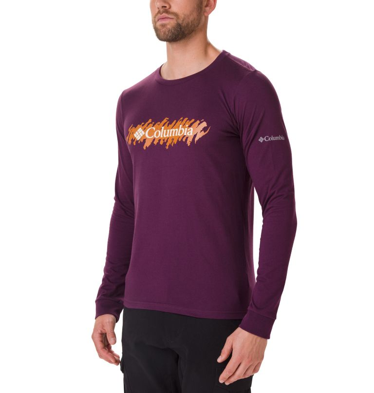 Men's Columbia Lodge™ Long Sleeve Graphic T-shirt Men's Columbia Lodge™ Long Sleeve Graphic T-shirt, front