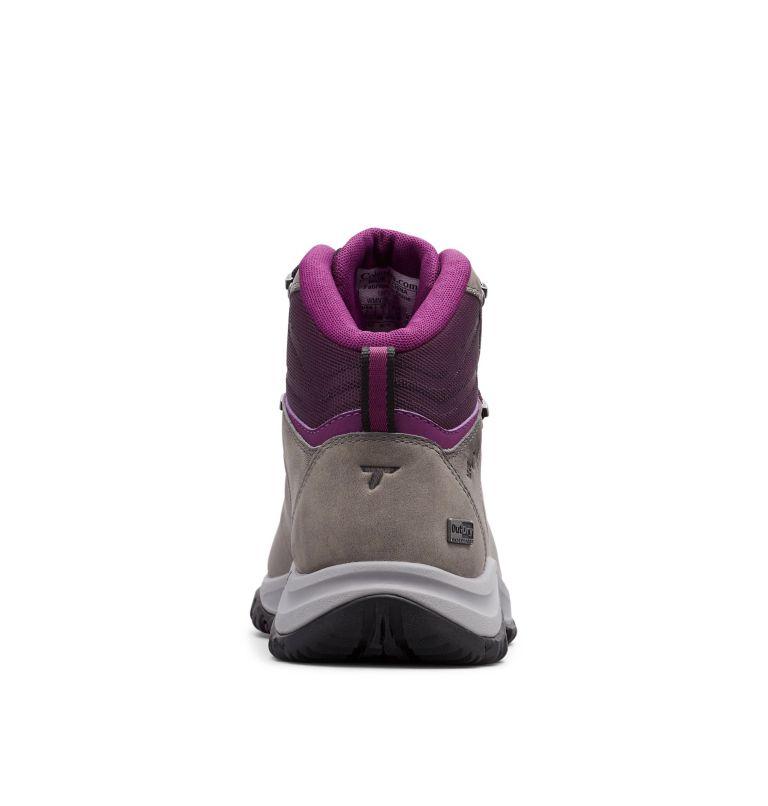100MW™ TITANIUM OUTDRY™ | 033 | 9 Women's 100MW™ Titanium OutDry™ Hiking Boot, Ti Grey Steel, Black Cherry, back
