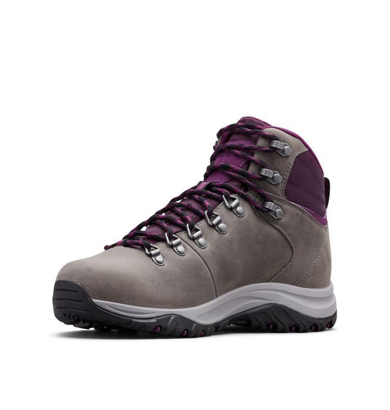 100MW™ TITANIUM OUTDRY™ | 033 | 9 Women's 100MW™ Titanium OutDry™ Hiking Boot, Ti Grey Steel, Black Cherry