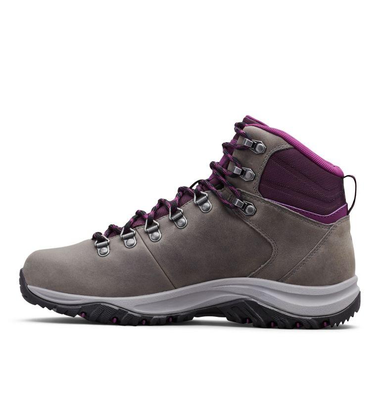 100MW™ TITANIUM OUTDRY™ | 033 | 9 Women's 100MW™ Titanium OutDry™ Hiking Boot, Ti Grey Steel, Black Cherry, medial