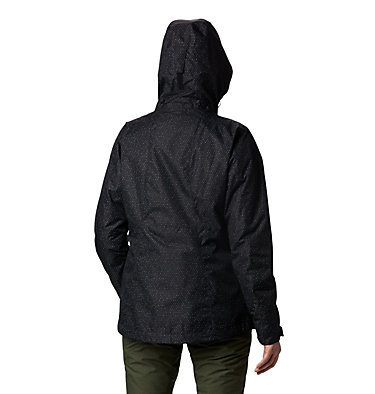 Women's Whirlibird™ IV Interchange Jacket Whirlibird™ IV Interchange Jacket | 671 | XS, Black Sparkler Print, back