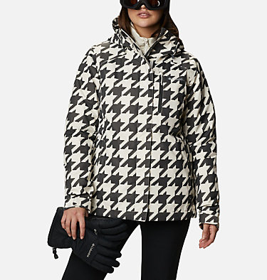 Women's Whirlibird™ IV Interchange Jacket Whirlibird™ IV Interchange Jacket | 031 | XL, Chalk Houndstooth Print, front
