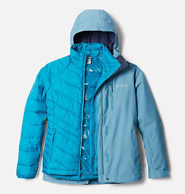 Manteau Interchange Whirlibird™ IV pour femme Whirlibird™ IV Interchange Jacket | 031 | XL, Canyon Blue Cross Dye, front