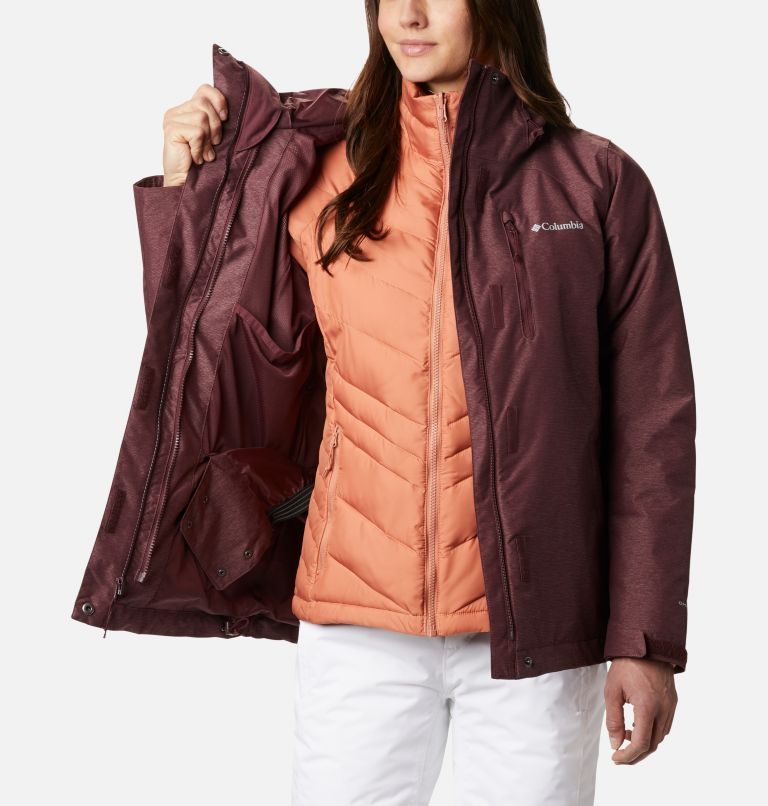 Whirlibird™ IV Interchange Jacket | 671 | M Women's Whirlibird™ IV Interchange Jacket, Malbec Crossdye, a3
