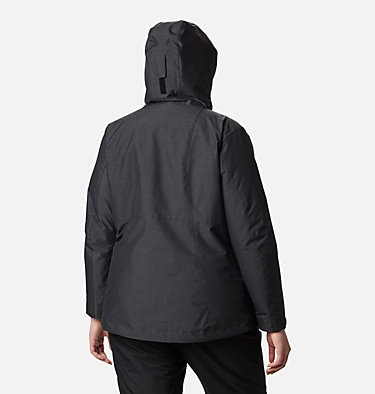 Women's Whirlibird™ IV Interchange Jacket - Plus Size Whirlibird™ IV Interchange Jacket | 604 | 2X, Black Crossdye, back