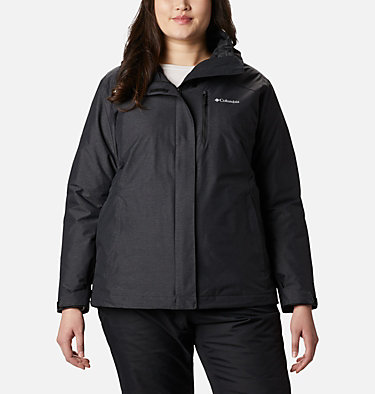 Women's Whirlibird™ IV Interchange Jacket - Plus Size Whirlibird™ IV Interchange Jacket | 604 | 2X, Black Crossdye, front