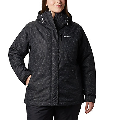 Women's Whirlibird™ IV Interchange Jacket - Plus Size Whirlibird™ IV Interchange Jacket | 604 | 2X, Black Sparkler Print, front
