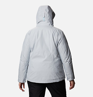 Women's Whirlibird™ IV Interchange Jacket - Plus Size Whirlibird™ IV Interchange Jacket | 604 | 2X, Cirrus Grey Crossdye, back