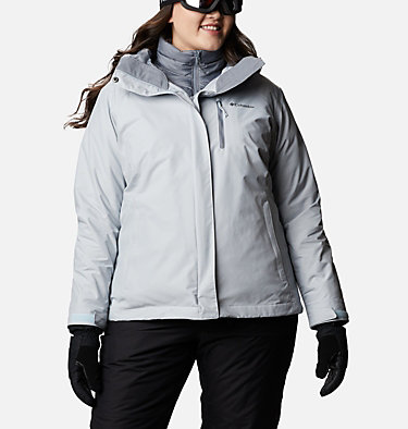 Women's Whirlibird™ IV Interchange Jacket - Plus Size Whirlibird™ IV Interchange Jacket | 604 | 2X, Cirrus Grey Crossdye, front