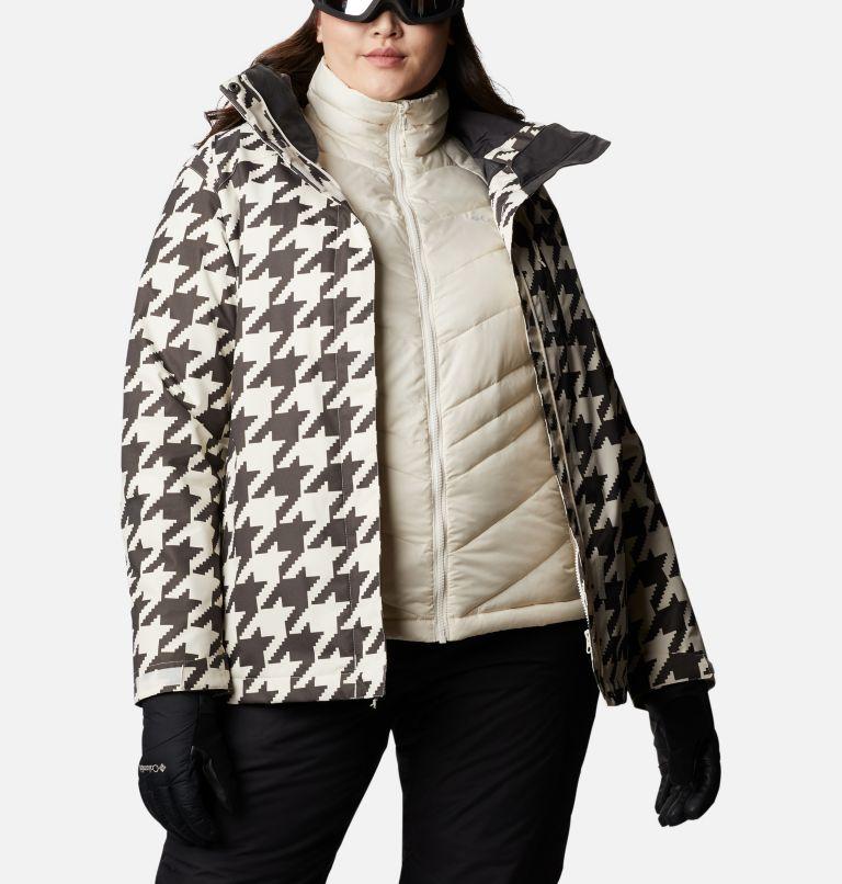 Whirlibird™ IV Interchange Jacket | 191 | 2X Women's Whirlibird™ IV Interchange Jacket - Plus Size, Chalk Houndstooth Print, a10