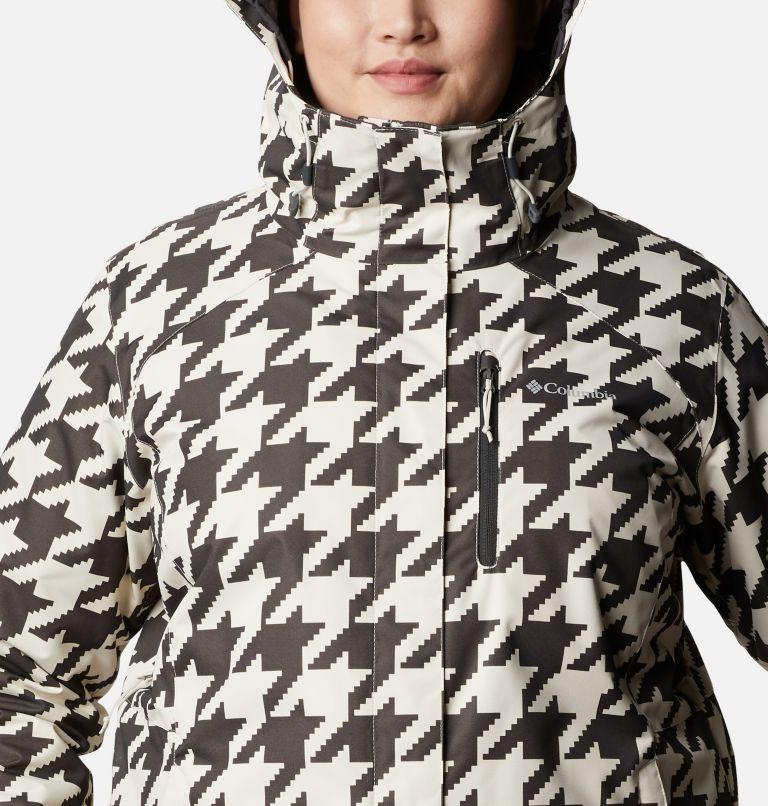 Whirlibird™ IV Interchange Jacket | 191 | 2X Women's Whirlibird™ IV Interchange Jacket - Plus Size, Chalk Houndstooth Print, a2