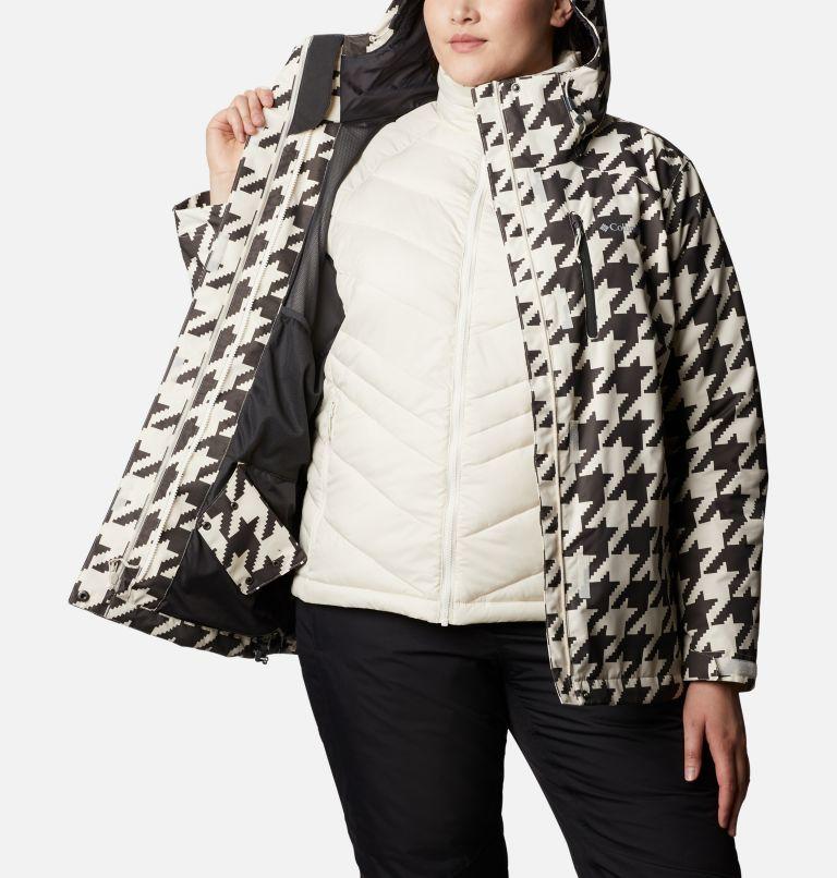 Whirlibird™ IV Interchange Jacket | 191 | 2X Women's Whirlibird™ IV Interchange Jacket - Plus Size, Chalk Houndstooth Print, a3