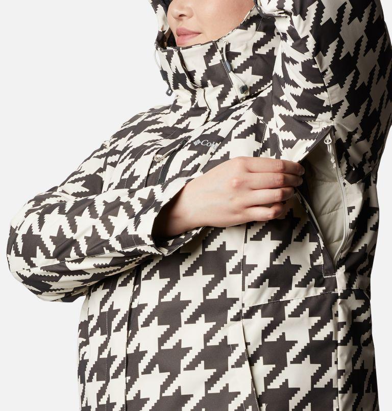 Whirlibird™ IV Interchange Jacket | 191 | 2X Women's Whirlibird™ IV Interchange Jacket - Plus Size, Chalk Houndstooth Print, a4