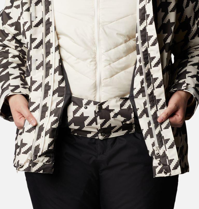 Whirlibird™ IV Interchange Jacket | 191 | 2X Women's Whirlibird™ IV Interchange Jacket - Plus Size, Chalk Houndstooth Print, a6