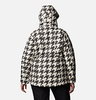 Women's Whirlibird™ IV Interchange Jacket - Plus Size Whirlibird™ IV Interchange Jacket | 604 | 2X, Chalk Houndstooth Print, back
