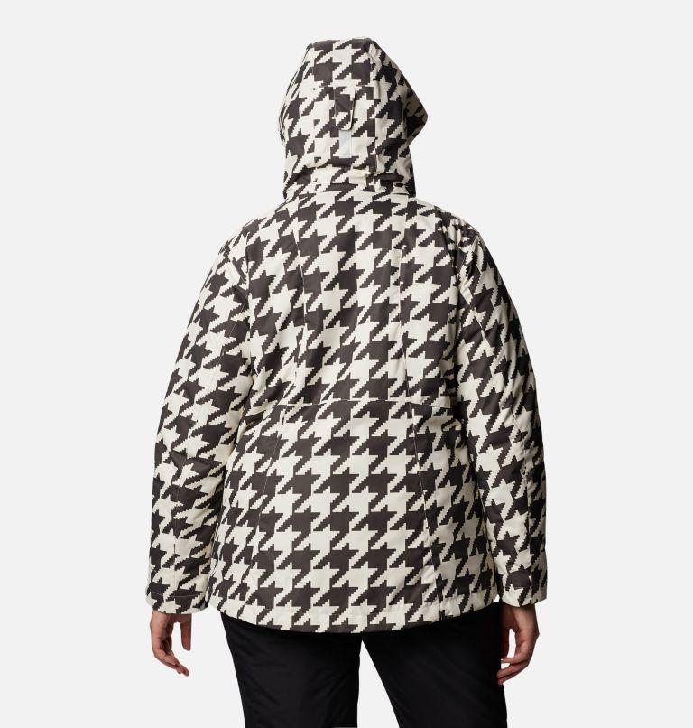 Whirlibird™ IV Interchange Jacket | 191 | 2X Women's Whirlibird™ IV Interchange Jacket - Plus Size, Chalk Houndstooth Print, back