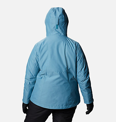 Women's Whirlibird™ IV Interchange Jacket - Plus Size Whirlibird™ IV Interchange Jacket | 604 | 2X, Canyon Blue Cross Dye, back