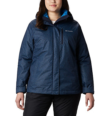Women's Whirlibird™ IV Interchange Jacket - Plus Size Whirlibird™ IV Interchange Jacket | 604 | 2X, Dark Nocturnal Sparkler Print, front