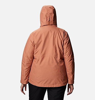 Women's Whirlibird™ IV Interchange Jacket - Plus Size Whirlibird™ IV Interchange Jacket | 604 | 2X, Nova Pink Crossdye, back