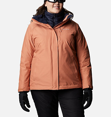 Women's Whirlibird™ IV Interchange Jacket - Plus Size Whirlibird™ IV Interchange Jacket | 604 | 2X, Nova Pink Crossdye, front