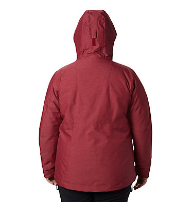Women's Whirlibird™ IV Interchange Jacket - Plus Size Whirlibird™ IV Interchange Jac | 522 | 2X, Beet Crossdye, back