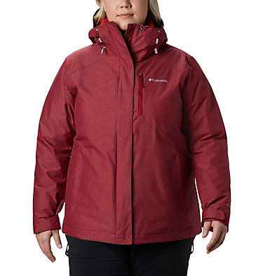 Women's Whirlibird™ IV Interchange Jacket - Plus Size Whirlibird™ IV Interchange Jacket | 604 | 2X, Beet Crossdye, front
