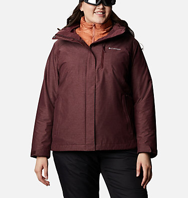 Women's Whirlibird™ IV Interchange Jacket - Plus Size Whirlibird™ IV Interchange Jacket | 604 | 2X, Malbec Crossdye, front