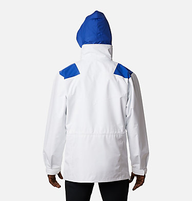 Men's Monashee™ Anorak Monashee™ Anorak | 100 | S, White, Lapis Blue, Emerald Green, back