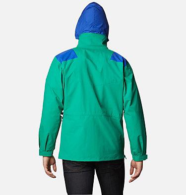 Monashee™ Anorak für Männer Monashee™ Anorak | 100 | S, Emerald Green, Lapis Blue, Brt Geranm, back