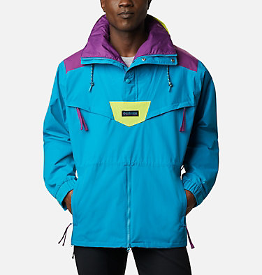 Monashee™ Anorak für Männer Monashee™ Anorak | 100 | S, Fjord Blue, Plum, Bright Chartreuse, front