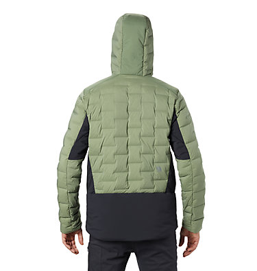 Men's Super/DS™ Stretchdown Climb Hoody Super/DS™ Climb Jacket | 492 | L, Field, back