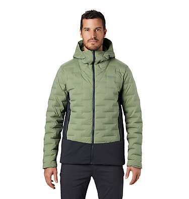 Men's Super/DS™ Stretchdown Climb Hoody Super/DS™ Climb Jacket | 492 | L, Field, front