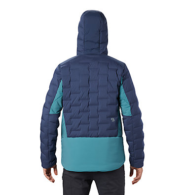 Men's Super/DS™ Stretchdown Climb Hoody Super/DS™ Climb Jacket | 492 | L, Zinc, back