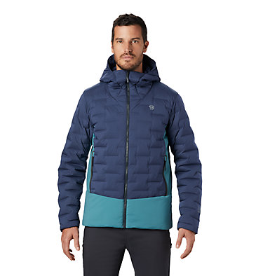 Men's Super/DS™ Stretchdown Climb Hoody Super/DS™ Climb Jacket | 492 | L, Zinc, front