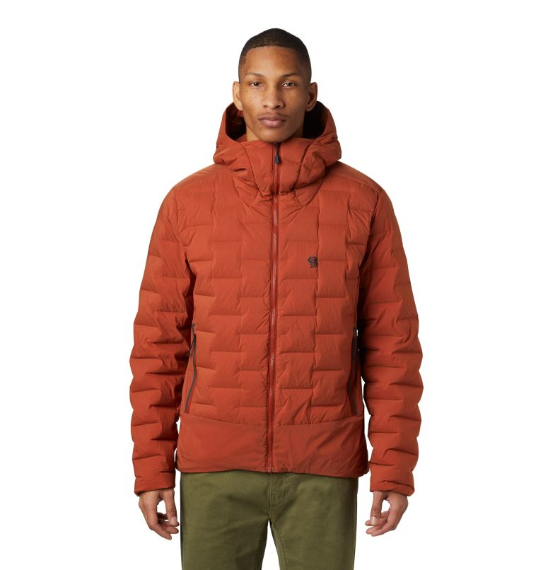 Super/DS™ Climb Jacket | 801 | S Men's Super/DS™ Stretchdown Climb Hoody, Rusted, front