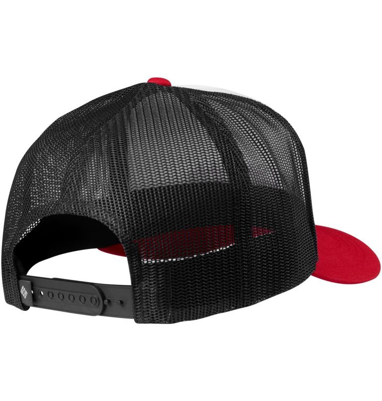Norton Bay™ Ballcap | 102 | O/S Unisex Norton Bay™ Baseballkappe, White, Mountain Red, back