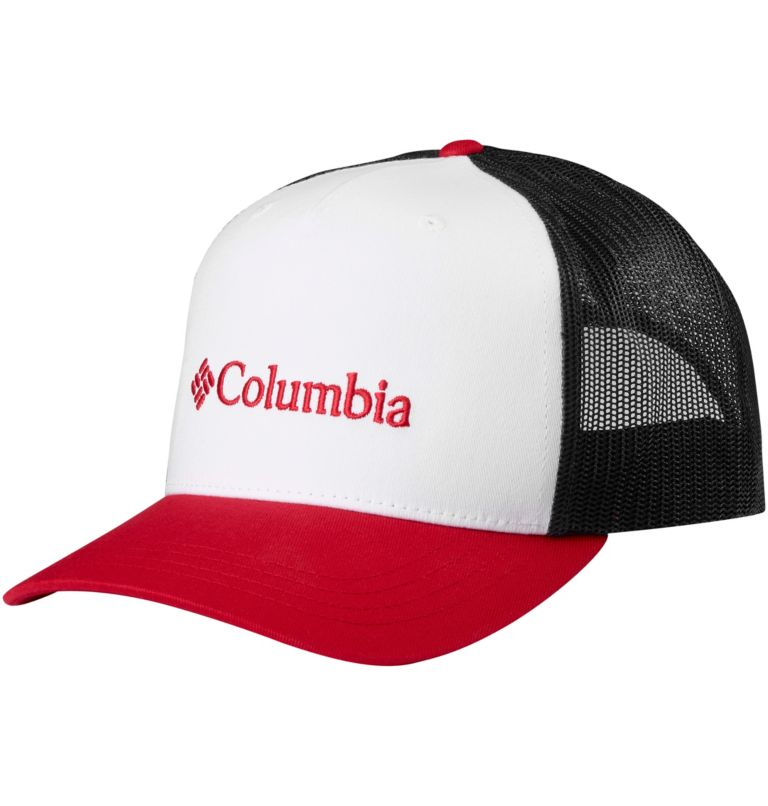 Norton Bay™ Ballcap | 102 | O/S Unisex Norton Bay™ Ball Cap, White, Mountain Red, front