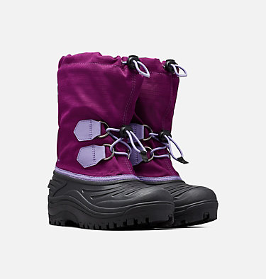Youth Super Trooper™ Boot YOUTH SUPER TROOPER™ | 011 | 1, Wild Iris, Paisley Purple, 3/4 front
