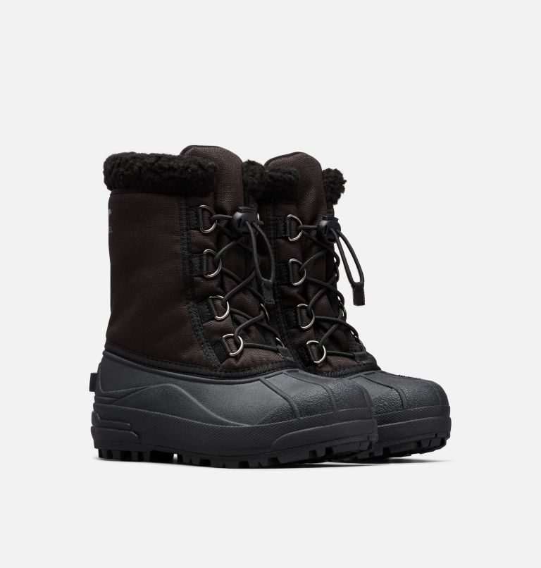 YOUTH CUMBERLAND™ | 010 | 5 Youth Cumberland™ Boot, Black, 3/4 front