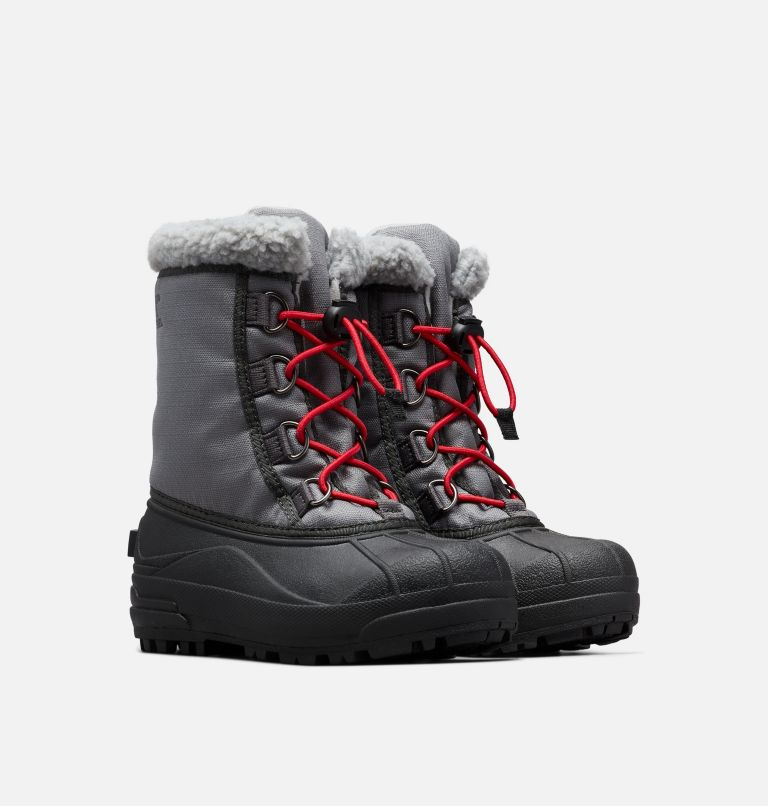 YOUTH CUMBERLAND™ | 023 | 3 Youth Cumberland™ Boot, City Grey, Coal, 3/4 front