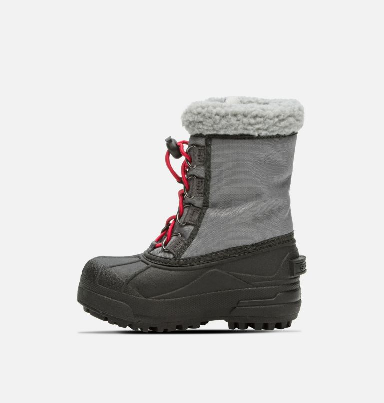 CHILDRENS CUMBERLAND™ | 023 | 8 Childrens Cumberland™ Boot, City Grey, Coal, medial