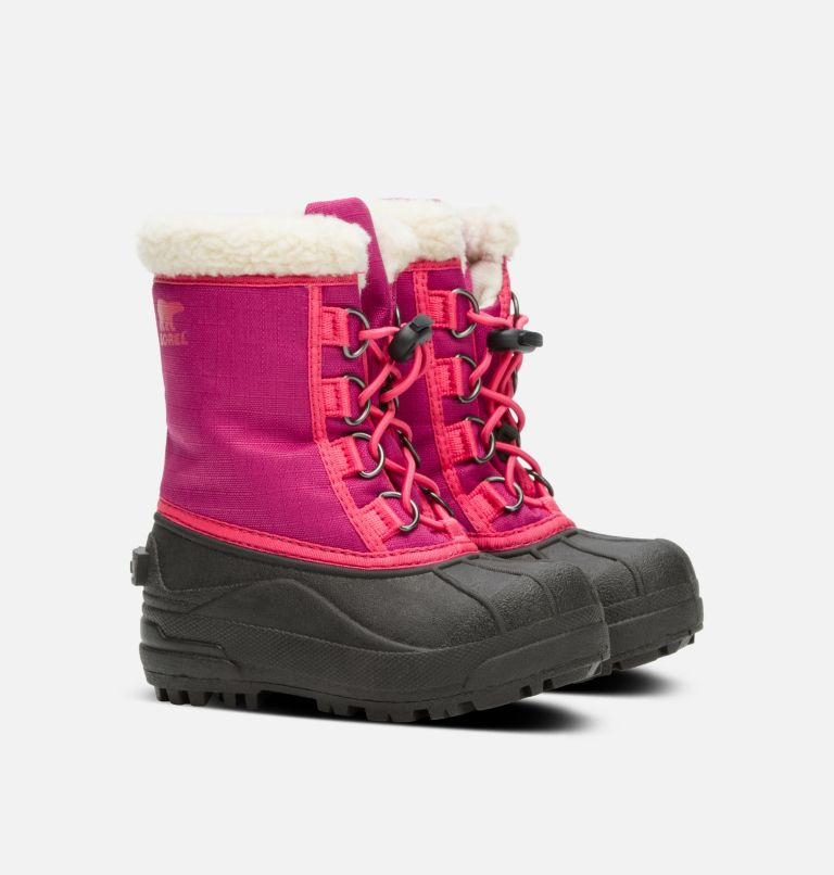 CHILDRENS CUMBERLAND™ | 684 | 11 Kids' Cumberland™ Boot, Deep Blush, 3/4 front